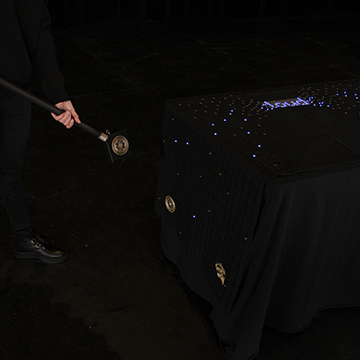 Wand and Tablecloth